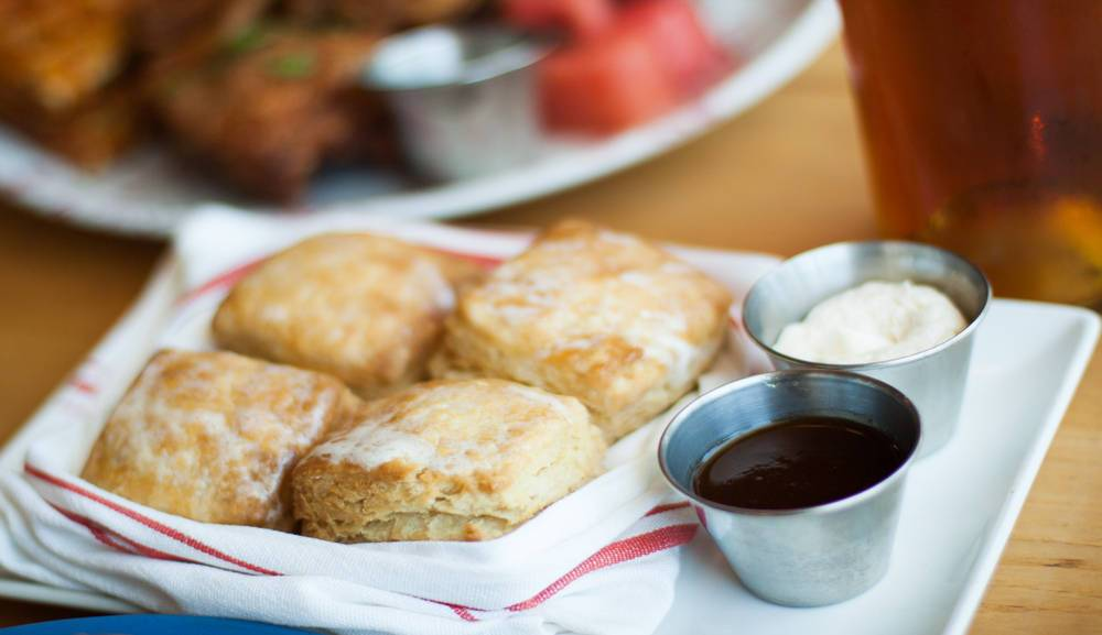 Butter Milk Biscuits at The Bird Southern Table & Bar