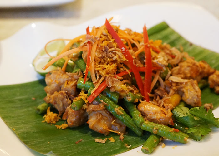 Lawar (Balinese Vegetable and Chicken Salad)